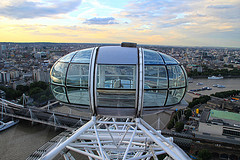 London Eye - Boot Londen